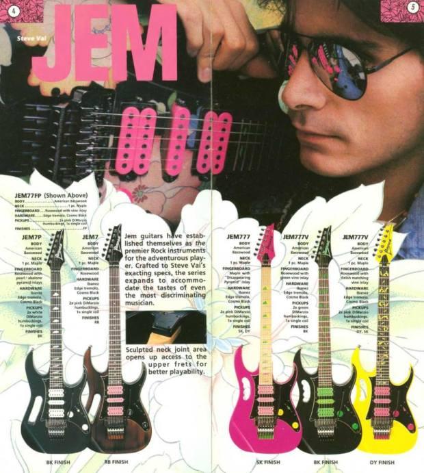 Ibanez Jem 1989