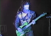 Prince live with The Revolution in 1983.