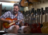 """Vince Gill with the first """"Burst"""" Les Paul"""