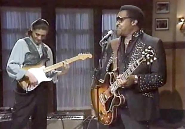 Little Milton Live on Sunday Night in 1989