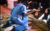 Jimi Hendrix Live on Stage at Berkeley Community Theatre in 1970