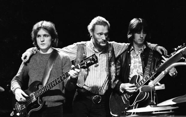 Jack Bruce,Ginger Baker and Eric Clapton of Cream